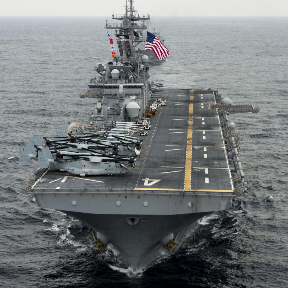 US Navy Deploys USS Boxer Amphibious Ready Group To Persian Gulf