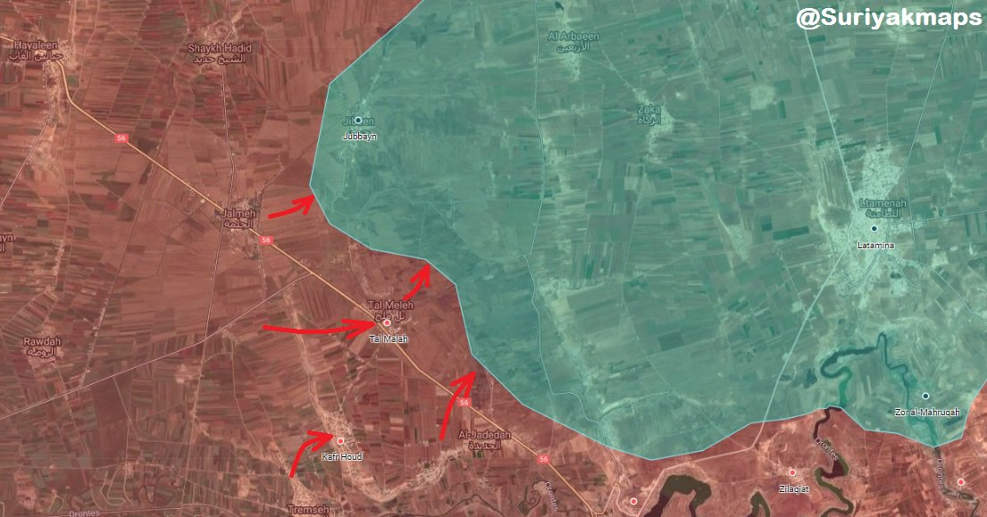 Syrian Army Repels HTS-led Attack, Recaptures Village And Kills Many Terrorists (Photos, Map)