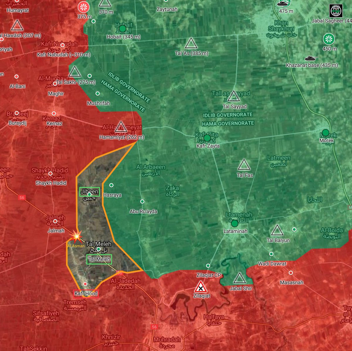 Syrian Army Deploys Additional Forces In Northern Hama Amid Continued Terrorists' Advance