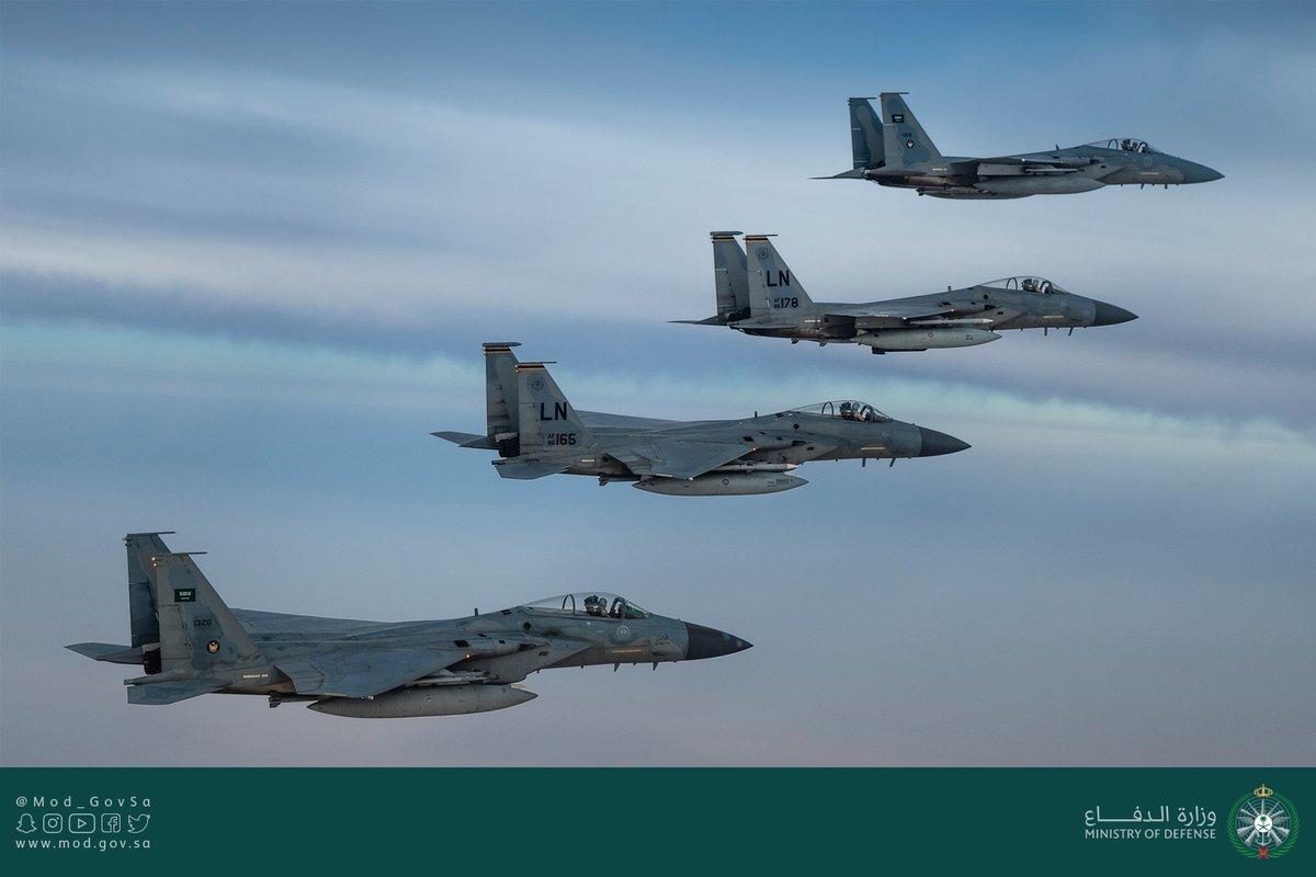 Les avions de combat saoudiens effectuent une patrouille conjointe dans le golfe Persique (vidéo, photos)