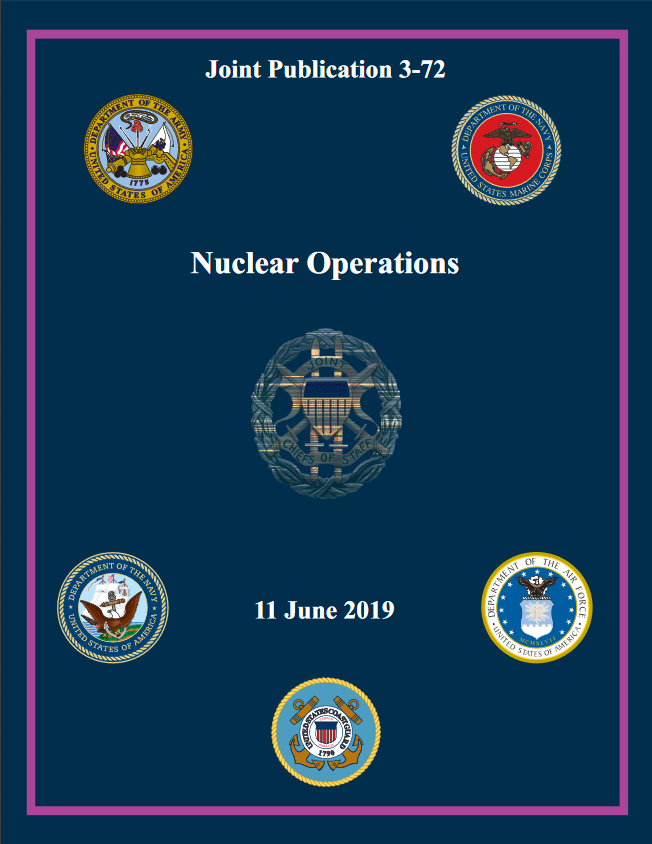 U.S. Joint Chiefs of Staff: Nuclear Weapons Usage Contributes To Restoration Of Strategic Stability