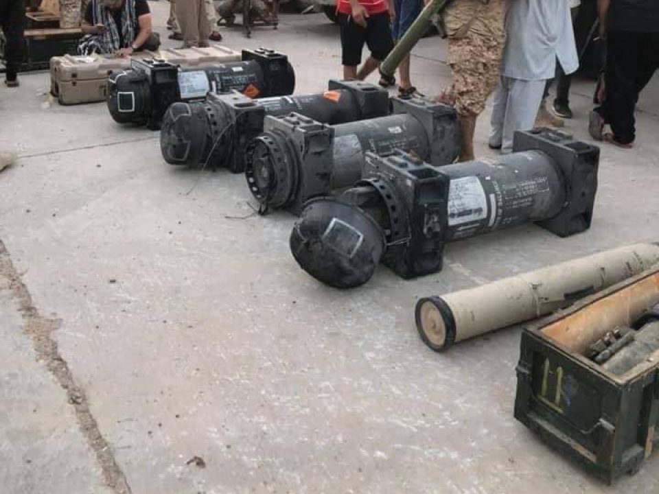 GNA Forces Showcase Advanced US, Russian And Chinese Weapons Captured From LNA (Photos)