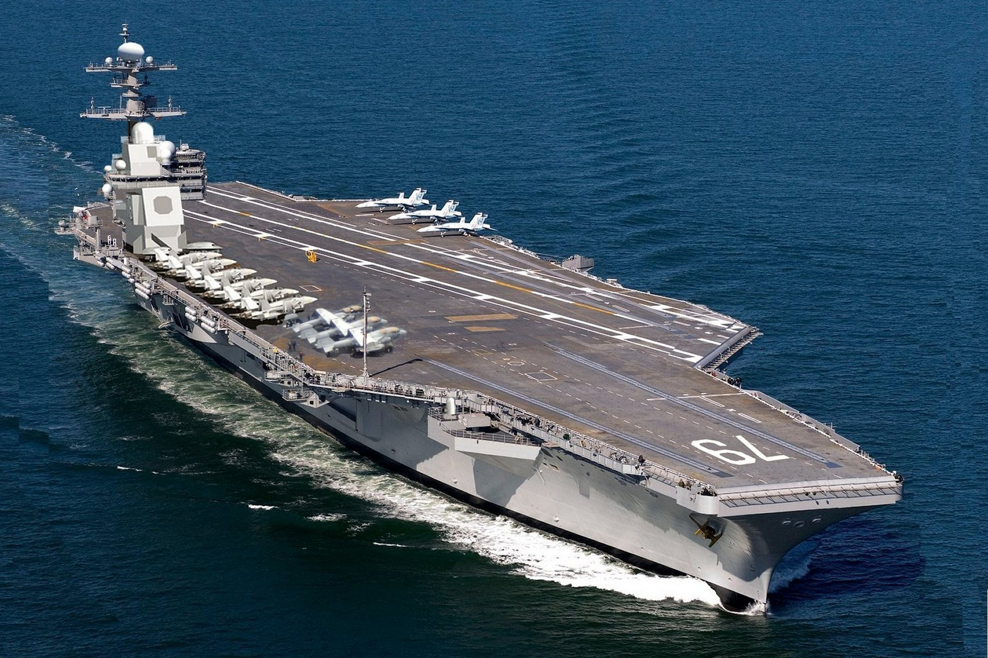 US Navy's Newest Aircraft Carrier Is Unable To Employ F-35s
