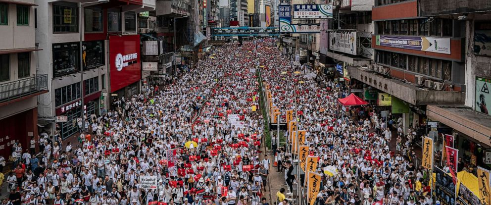 Protests In Hong Kong Against Extradition Bill and Further Integration Into Mainland China