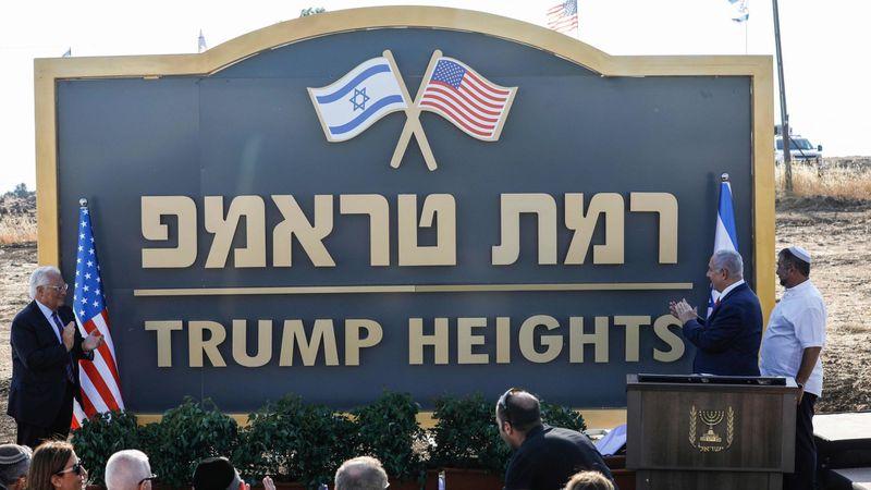 """""""Trump Heights"""": Israeli Prime Minister Announced Establishment Of New Settlement In Golan Heights"""