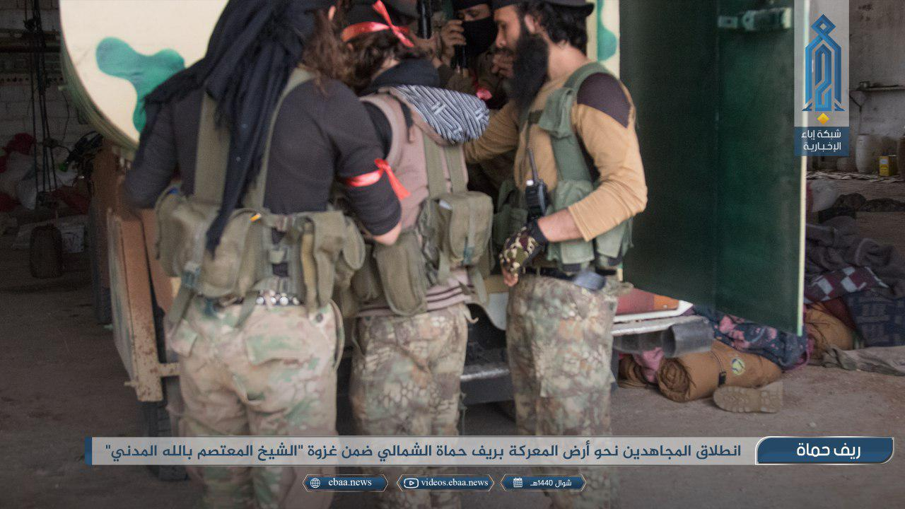 HTS, Al-Qaeda, Turkish-Backed Groups Launch Large-Scale Attack On Christian Town In Northern Hama (Photos)