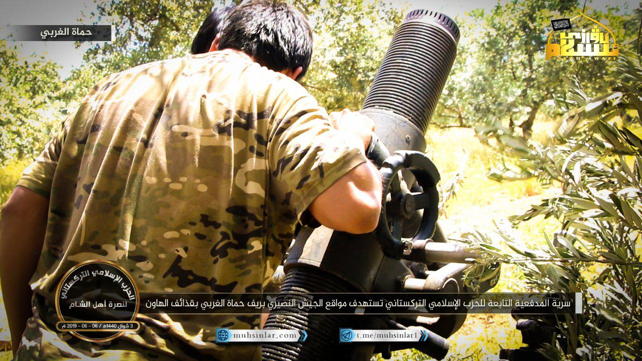 Foreign Al-Qaeda Terrorists Shell Syrian Army In Northern Hama With Turkish-Made Mortars (Photos)
