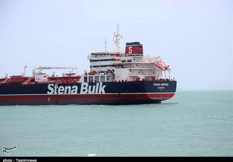 Iran Releases Videos Showing IRGC Personnel Fall Aboard British-flagged Oil Tanker