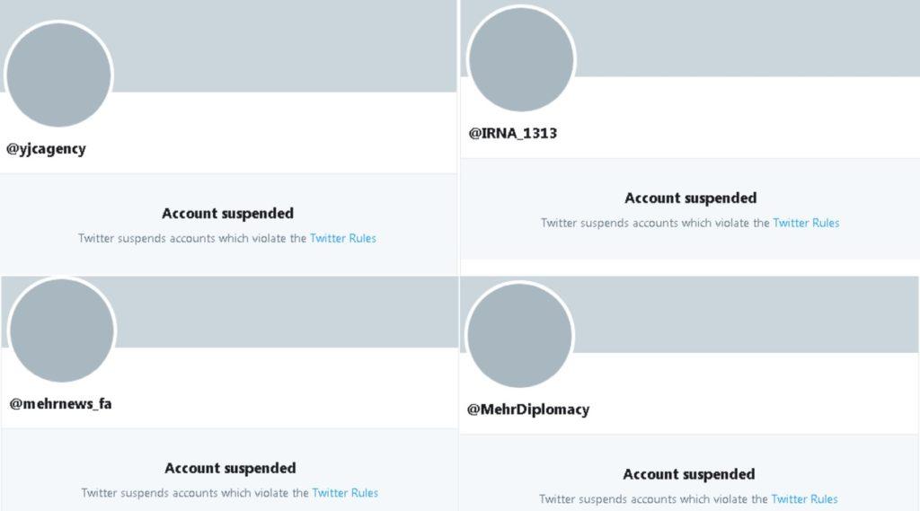 Twitter mutes 3 Iranian news agencies after British tanker seizure