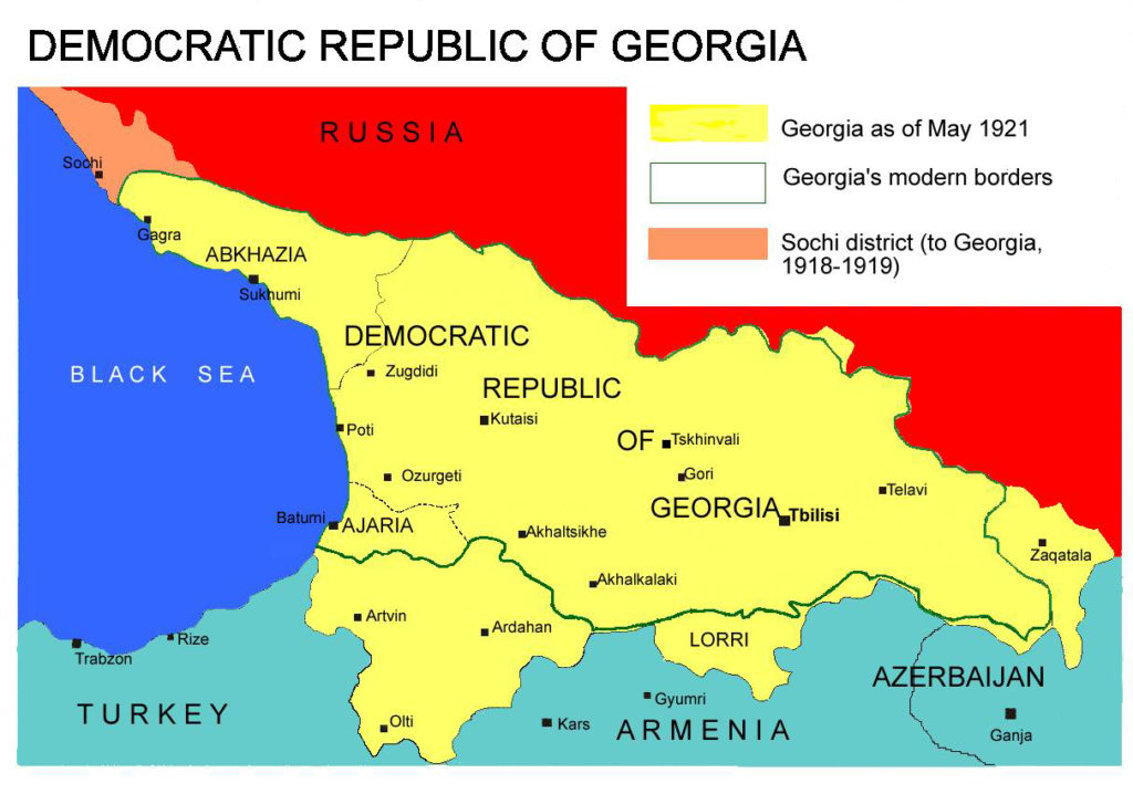 'Russian Occupation': Some Historical Context For Recent Political Crisis In Georgia