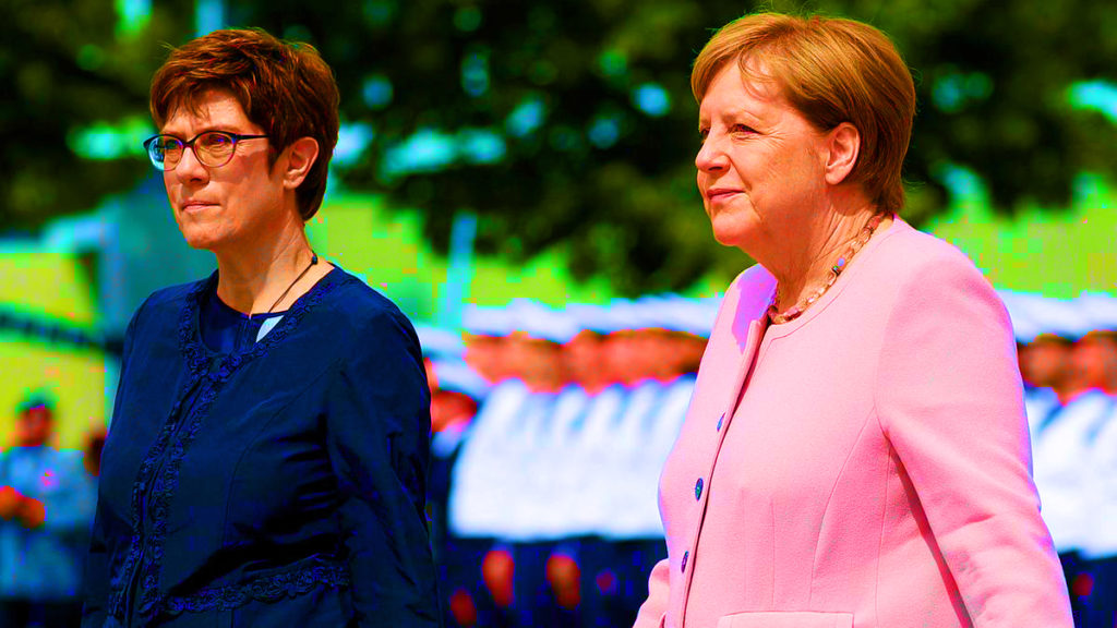 Germany's Next Chancellor: Merkel's Protege Keeps Digging Herself Into Deeper Hole