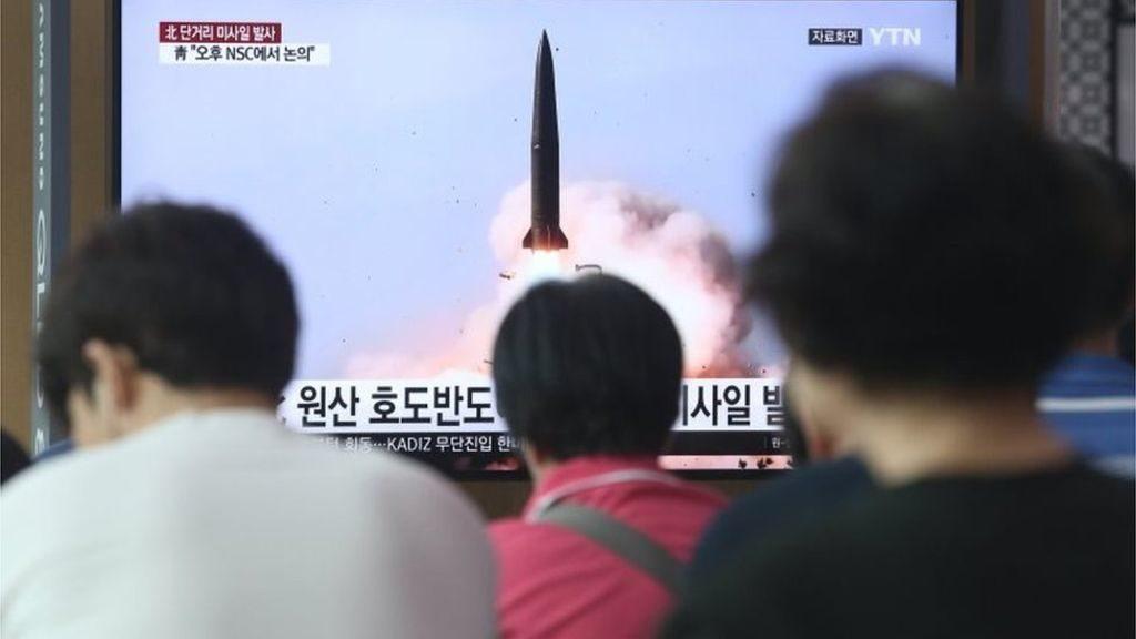 North Korea Test Fires Two Short-Range Missiles, After Revelation Of Alleged Ballistic Missile Submarine