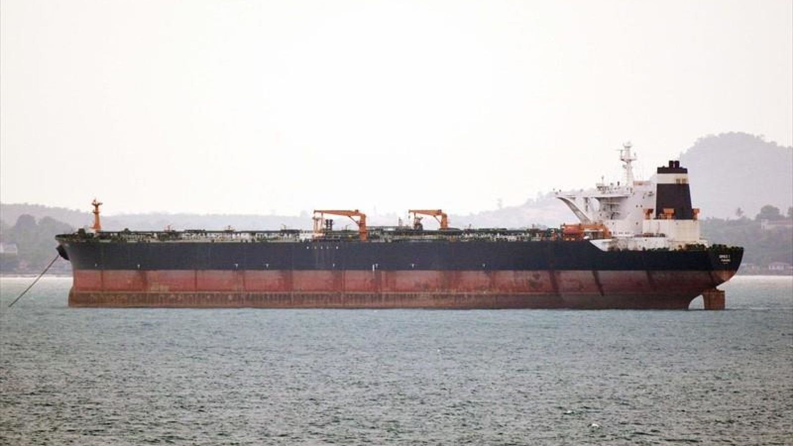 Gibraltar Authorities Release Iranian Supertanker Grace 1