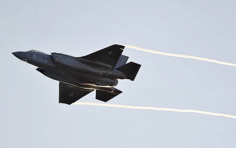 Israel Struck 'Iranian Targets' In Iraq 'Using F-35': Reports