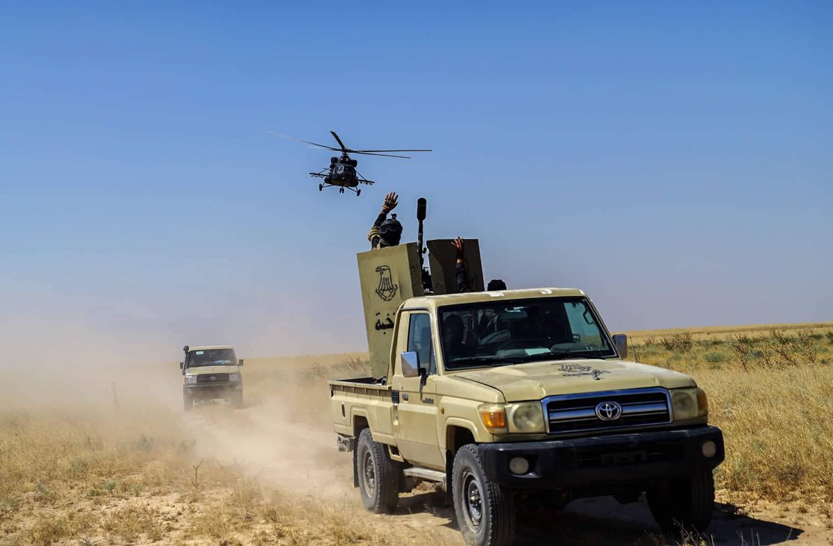 Iraqi Attack Helicopters Eliminate Several ISIS Terrorists In Eastern Iraq