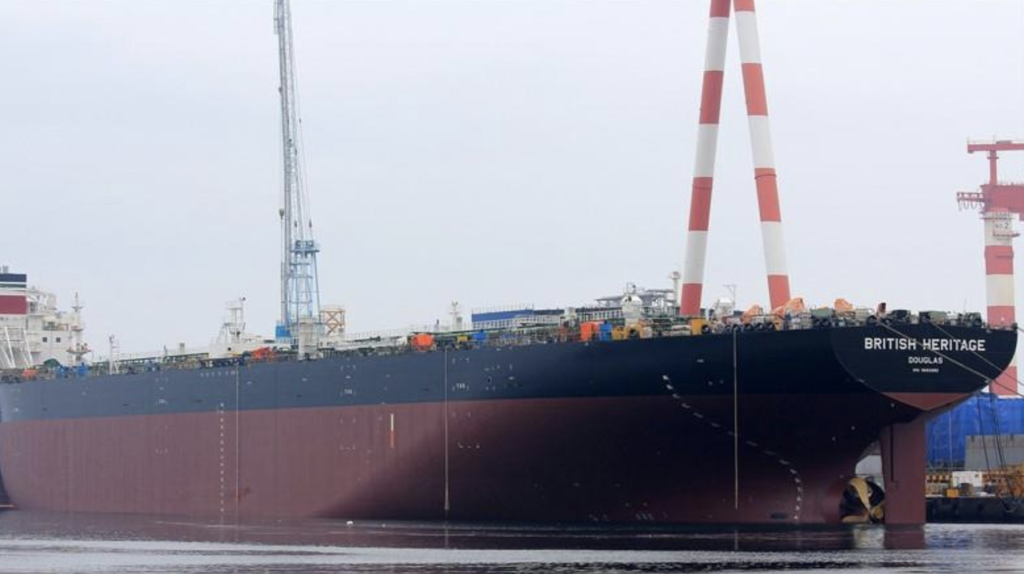 British Oil Tanker Seeks Shelter Over Fears It Could Be Seized By Iran