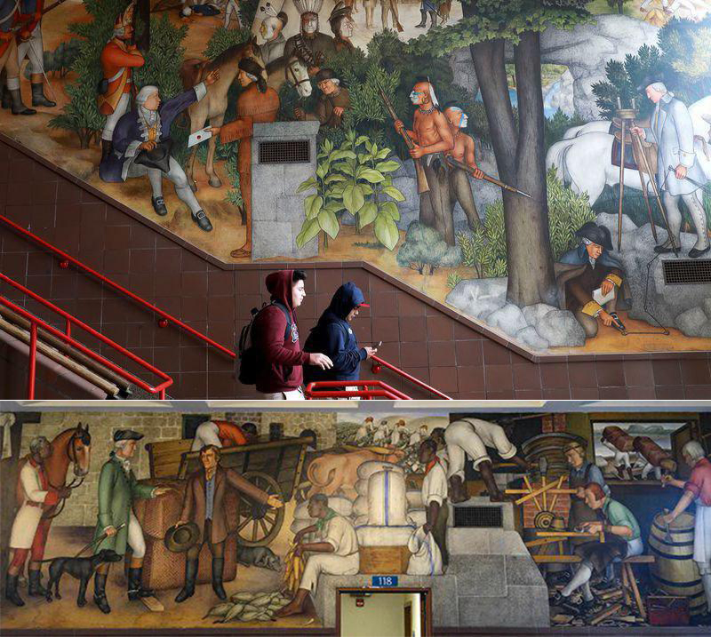 San Francisco To Spend Up To $600K To Paint Over 'Racist' Historical Artwork At George Washington High School