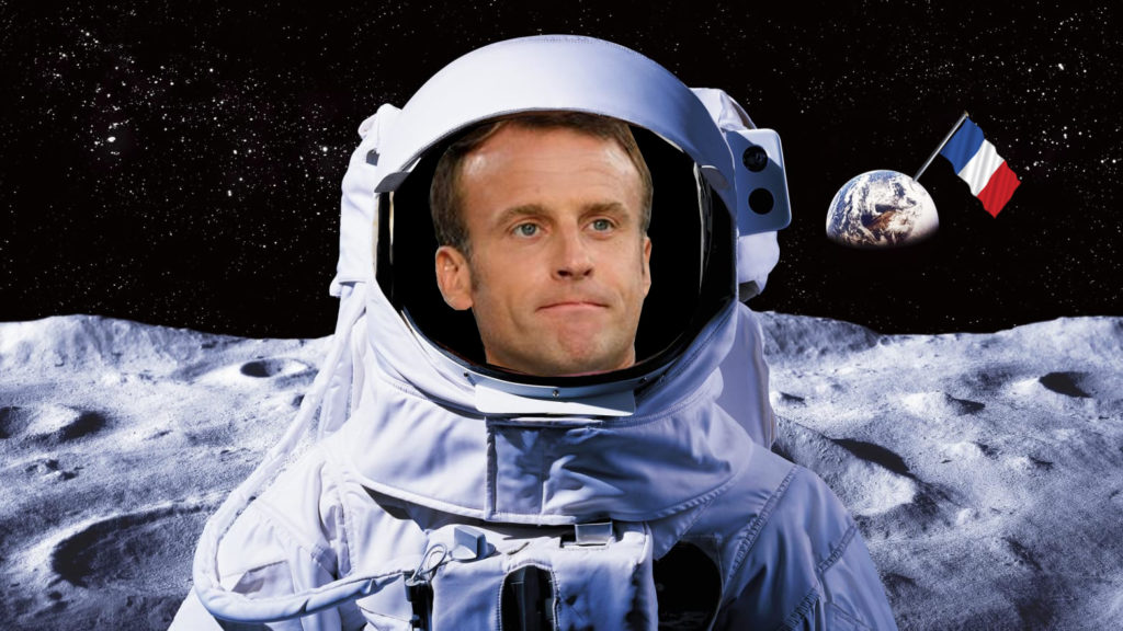 Macron Joins The Club By Revealing Own Space Force