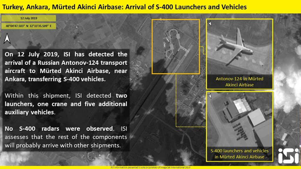 S-400 Delivery To Turkey In Satellite Images And Videos