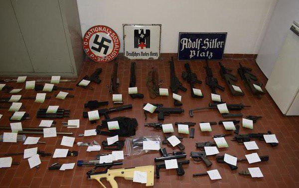 Italian Police Seized Guns And Missile From Neo-Nazis Affilated With Groups Supporting Kiev In Conflict In Eastern Ukraine