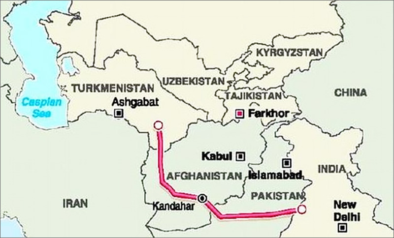 Uzbekistan Plans To Participate In Construction Of Afghan Part Of TAPI Pipeline