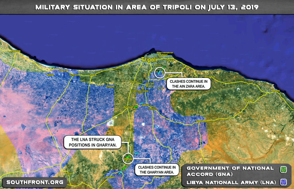 Libyan Air Force Destroys GNA Ammo Depots In Garyan