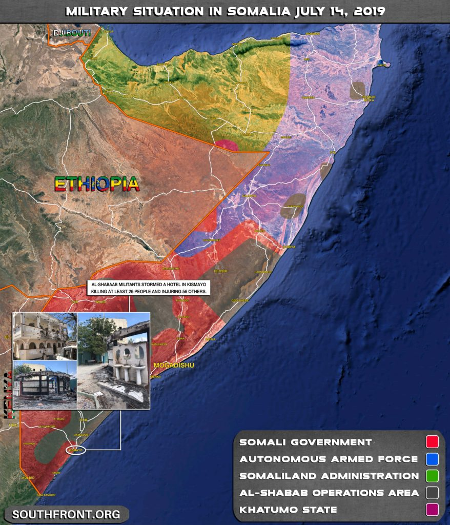 At Least 26 Dead In Gunment Attack On Hotel In Somalia's Kismayo (Map)