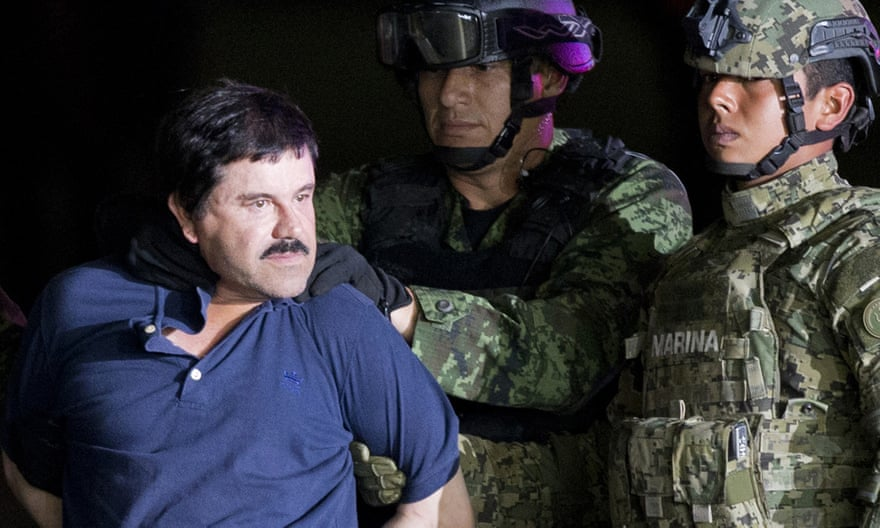 Neverending US-Mexico Drug War: El Chapo Sentenced to Life in Prison, But To Little Avail