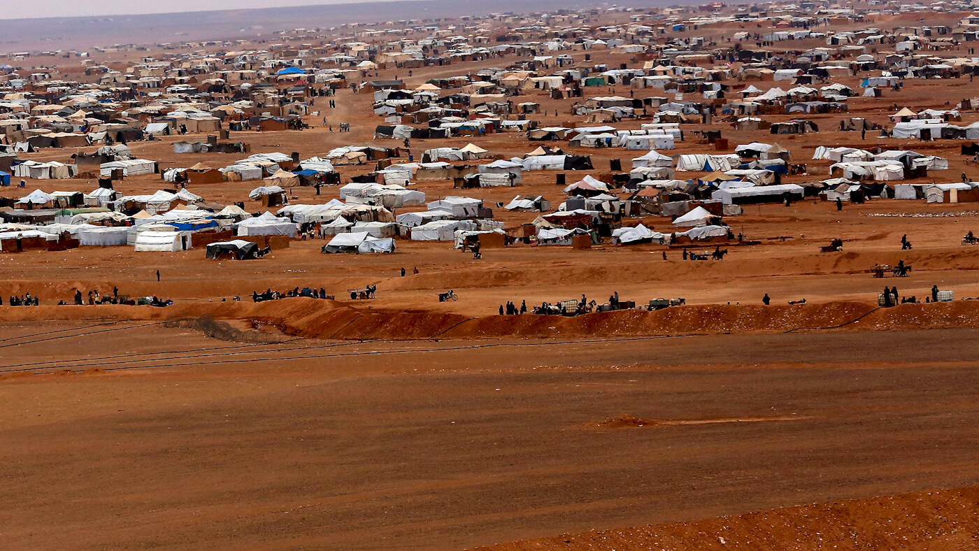 Evacuation Of People From Al-Rukban Refugee Camp Will Begin On September 27