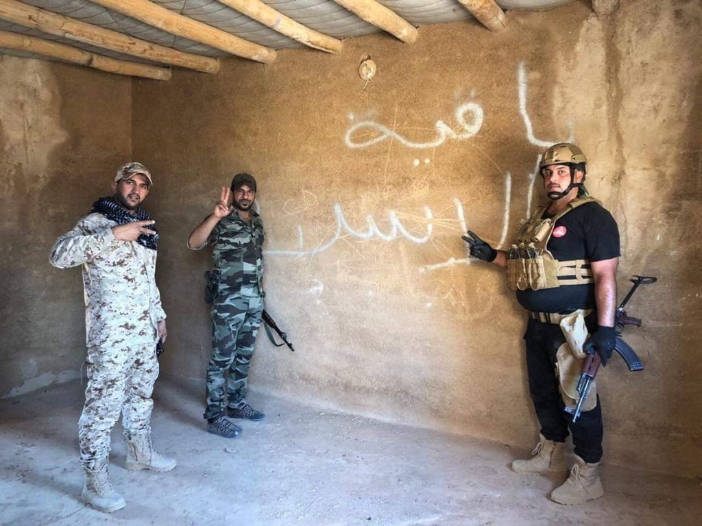 Syrian, Iraqi Forces Hunt Down ISIS Cells In Border Area (Map, Photos)
