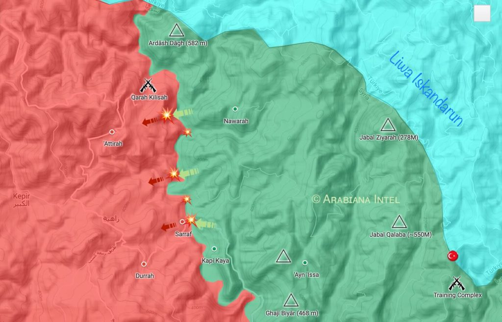 Syiran Army Repelled Attack In Northern Lattakia Killing Dozens Of Militants (Map)