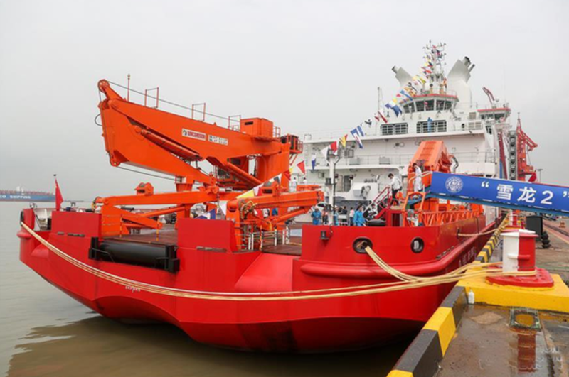 "China Commissions Its First Indigenous Icebreaker. US Lags Behind In ""Arctic Race"""