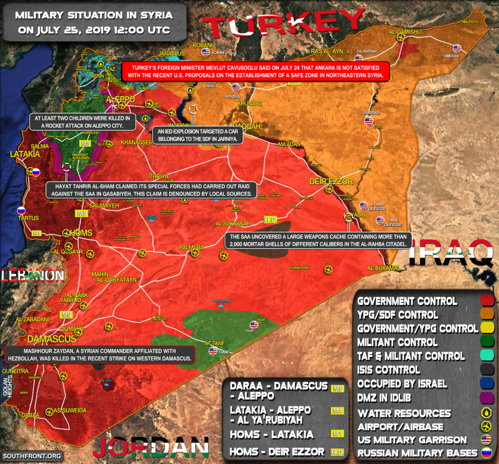 U.S. Is Building New Large Base With Airstrip In Northwestern Syria