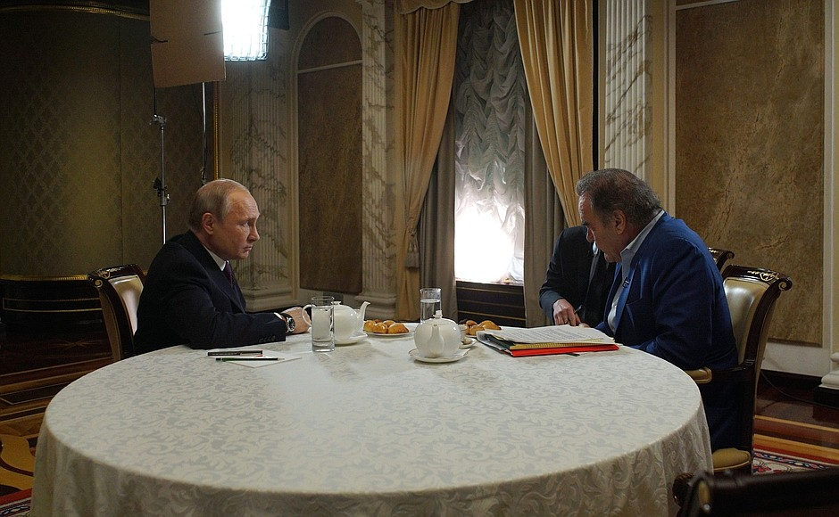 Vladimir Putin Interview With Oliver Stone