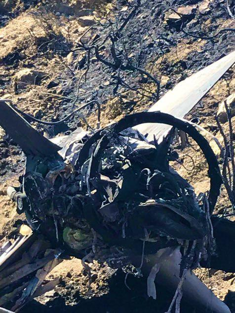 In Photos: Syrian S-200 Missile Crashed In Cyprus