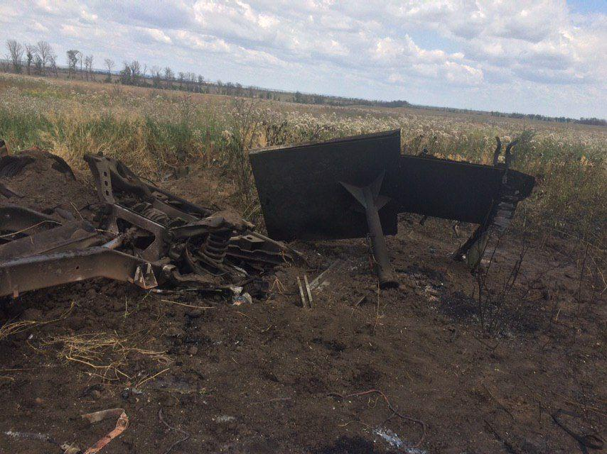In Photos: Humvee Of Ukrainian Armed Forces Destroyed At Contact Line With DPR Forces