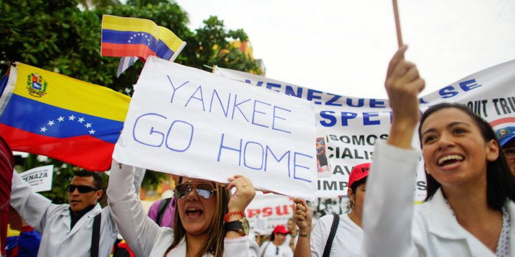 Mike Pompeo Says Foreign Actors Must Leave Venezuela, So That US Can Rebuild It