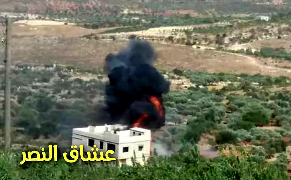 In Photos: Syrian Intelligence Operatives Blow Up Militants' Ammo Depot Deep Inside Idlib