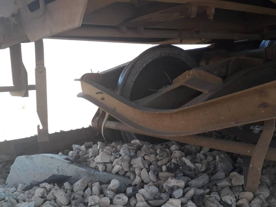 Terrorist Attack Targets Phosphate Train In Central Syria (Photos)
