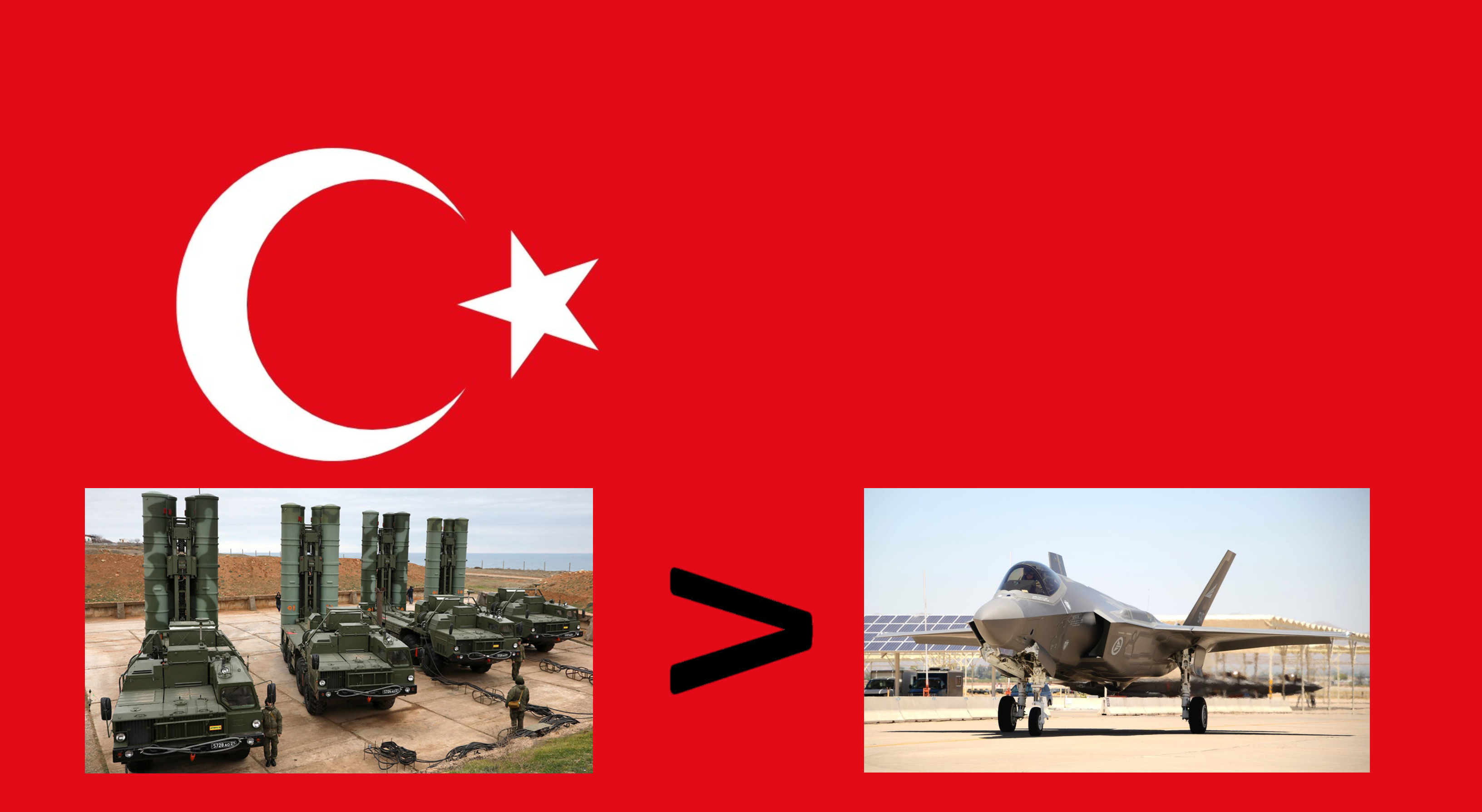 Turkey Removed From F-35 Program Over Russian S-400 Purchase