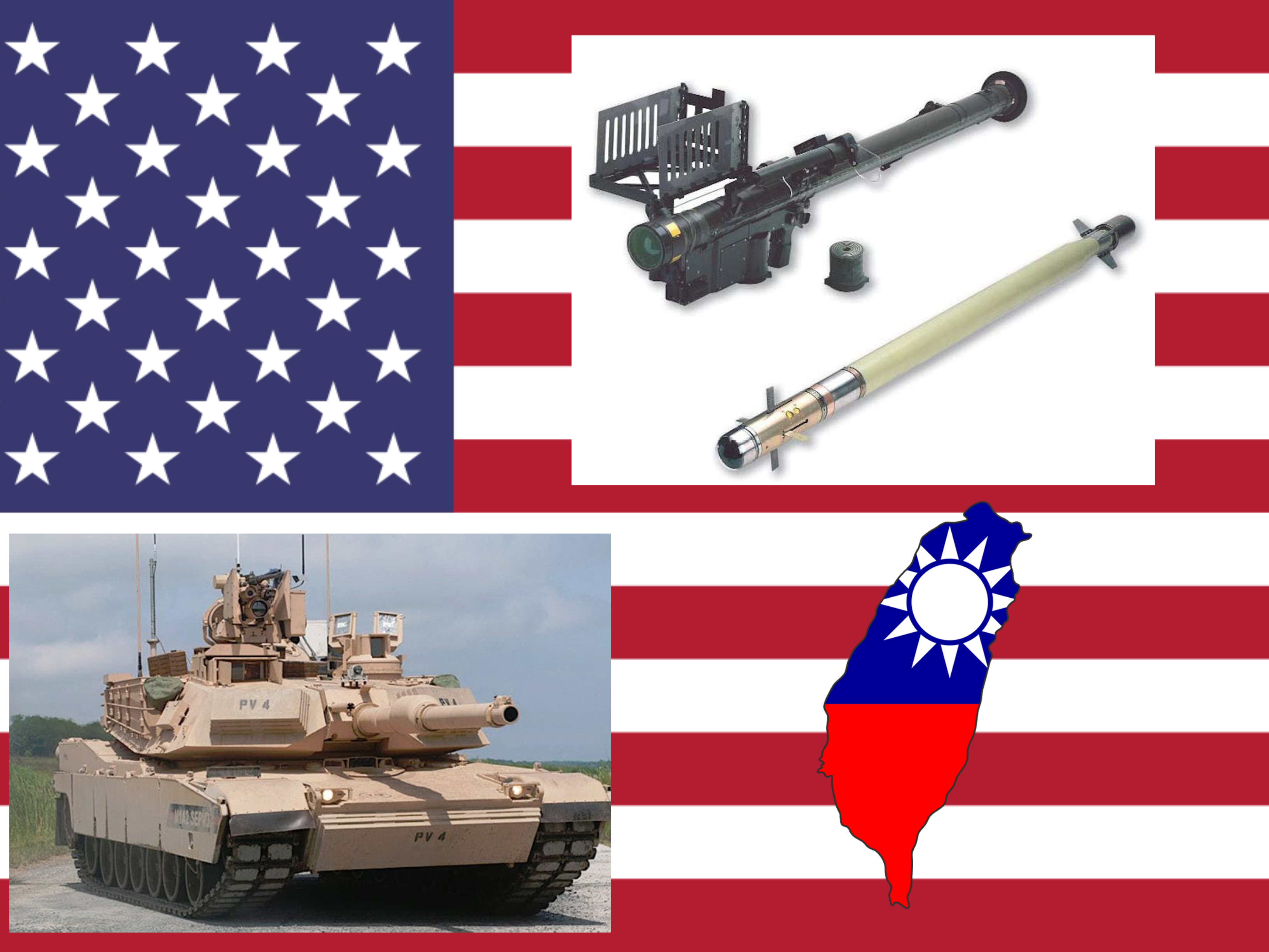 China To Sanction US Companies Over Approved Sale Of M1A2 Abrams Tanks And Stinger Missiles to Taiwan