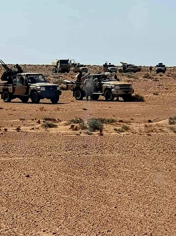 Libyan National Army Deploys Large Reinforcements South Of Tripoli (Video, Photos)