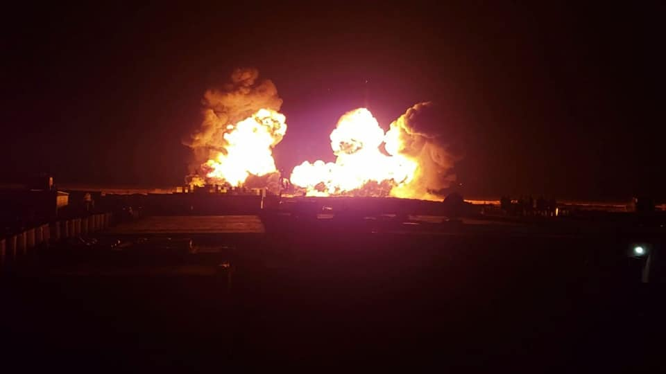 US-led Coalition & Its Proxies Conduct Night Live Drills In Al-Tanaf (Photos)