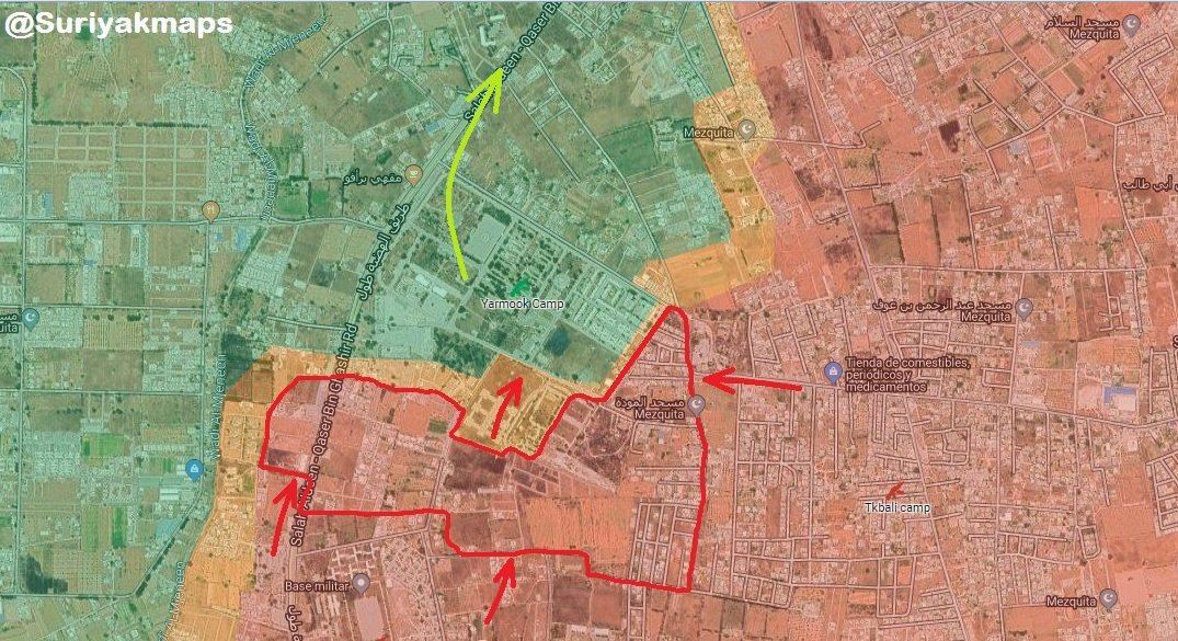 LNA Resumes Ground Operations, Captures Key Base In Tripoli's Outskirt (Map)