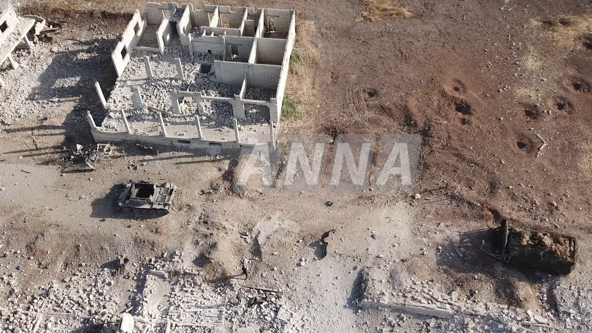Photos Show Militant Equipment Destroyed By Army In Recent Northern Hama Clashes