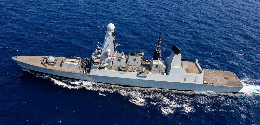 Second British Warship Enters Persian Gulf Region Amid Tensions With Iran