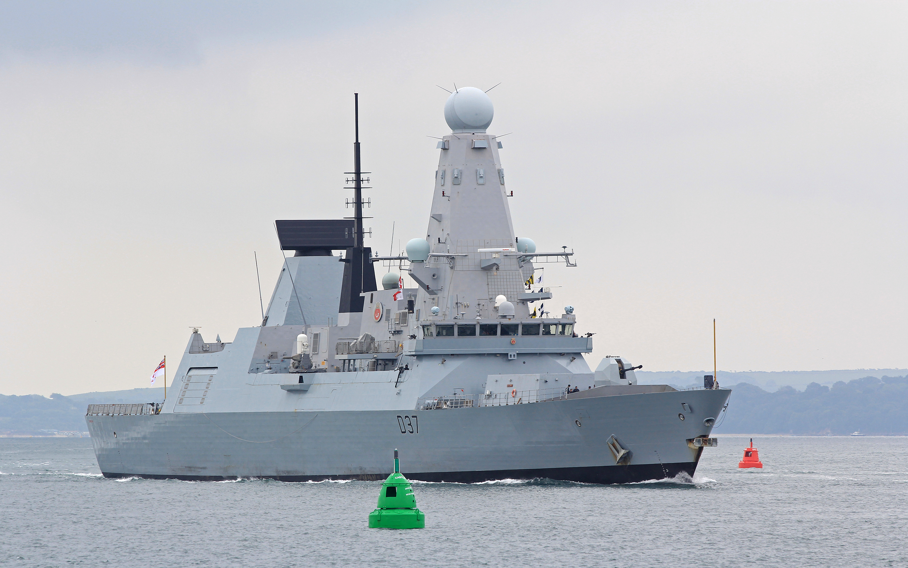 UK Deploys Second Warship In Persian Gulf Amid Tension With Iran (Infographics)