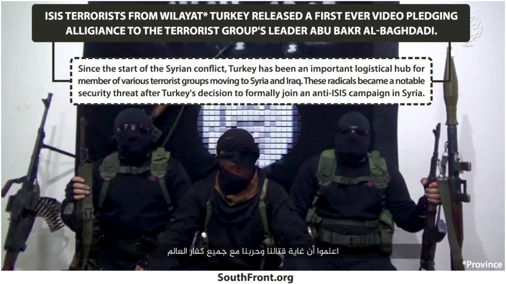 ISIS' Wilayat Turkey Released First Ever Video Pledging Alligiance To Al-Baghdadi
