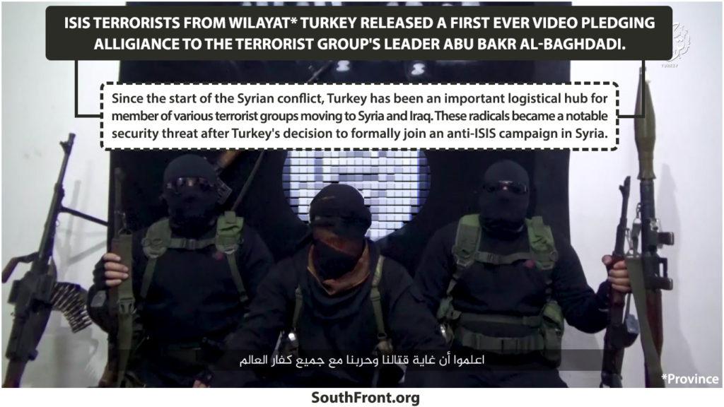 ISIS' Wilayat Turkey Released First Ever Video Pledging Alligiance To Al-Baghdadi