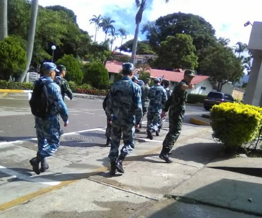 Chinese Troops Photographed In Venezuela